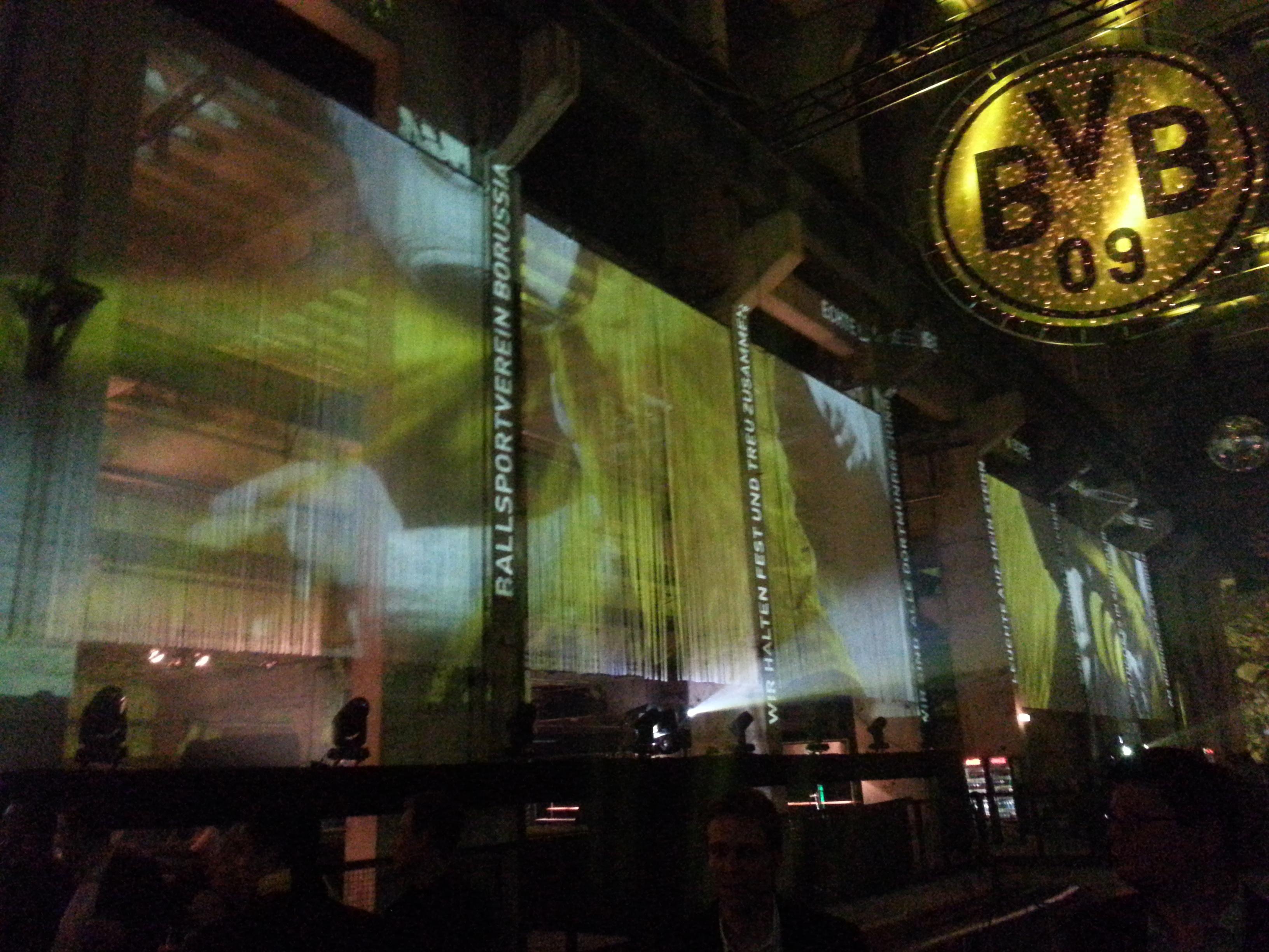 BVB-Feier im Kraftwerk