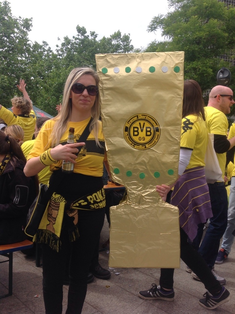 BVB-Fans in Berlin