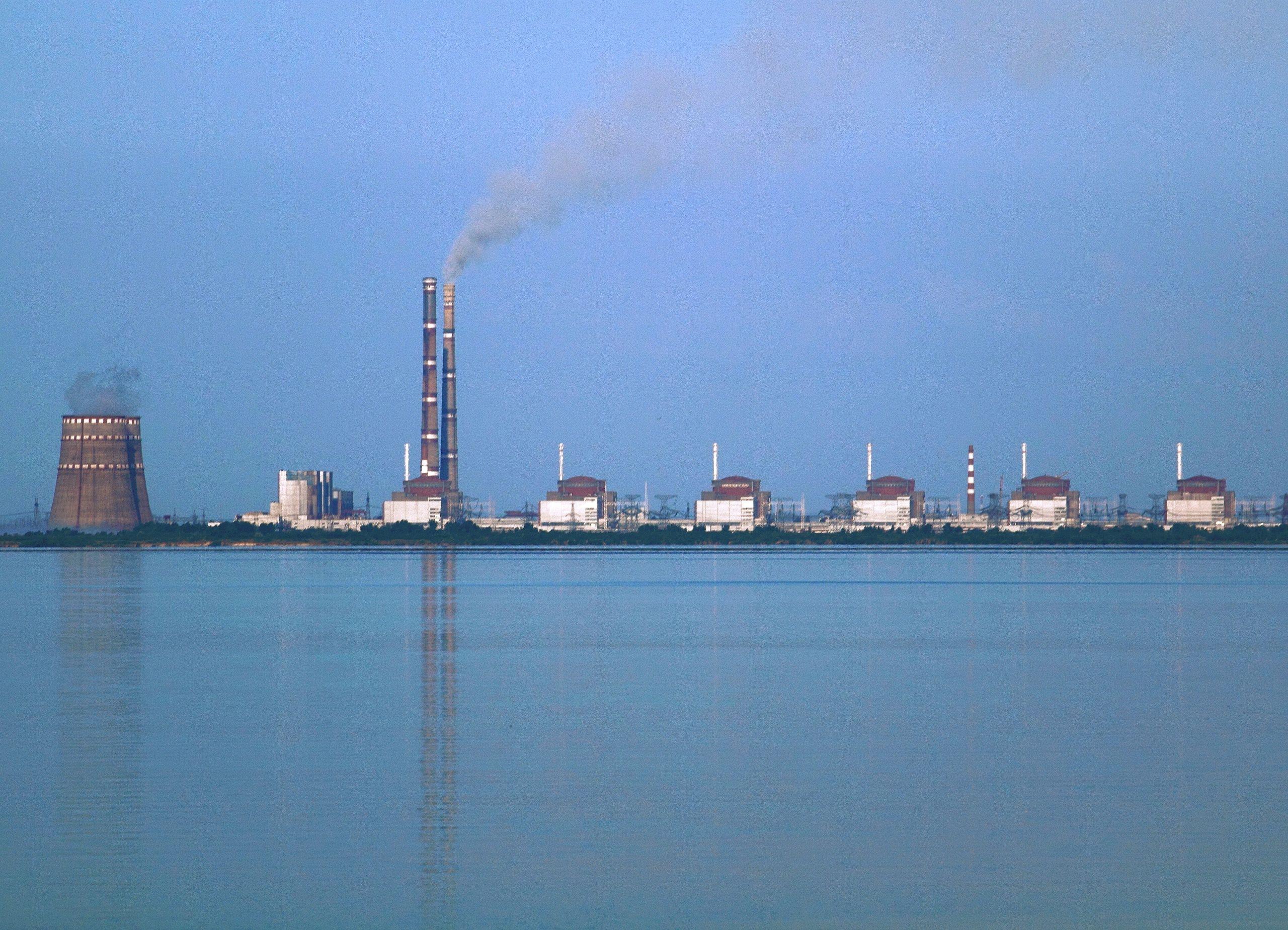 Atomkraftwerk in Saporoschje (Bild: Ralf 1969 via CC BY-SA 3.0)